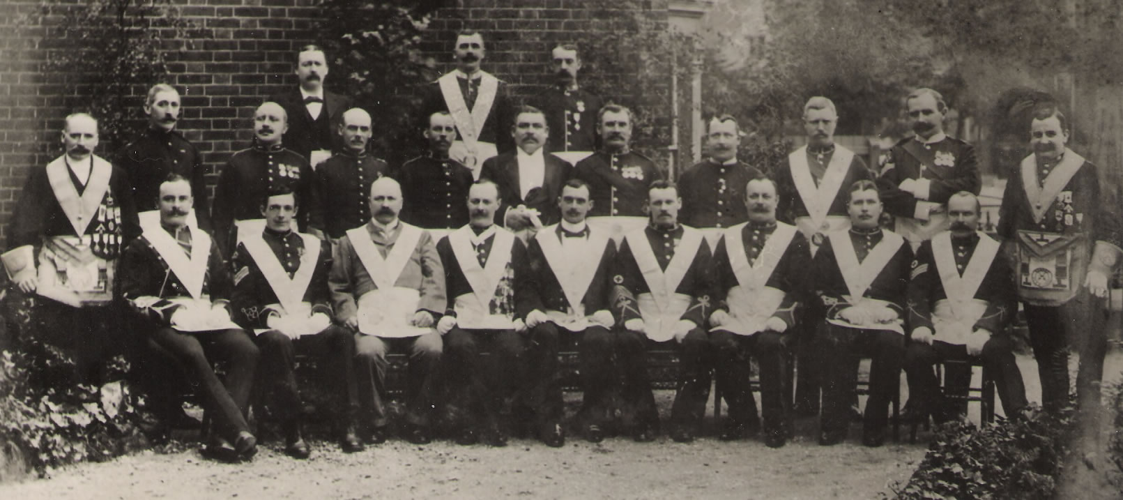 Group of Founders of Comrades Lodge